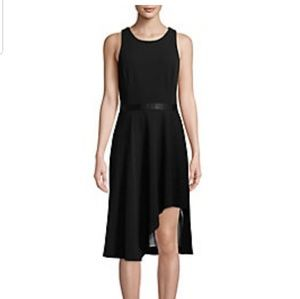 Plus Assymetrical, Fit and Flare Dress